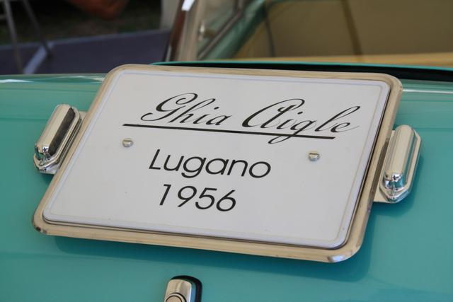 Ghia Aigle Lugano 1956 Ghia110