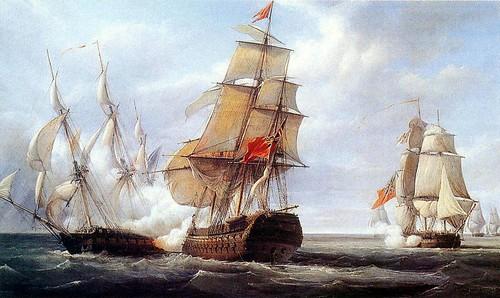 Bataille maritime des Trois Jours, mars 1667 800px-10
