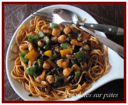 Pétoncles noircis sur pâtes  Patonc11