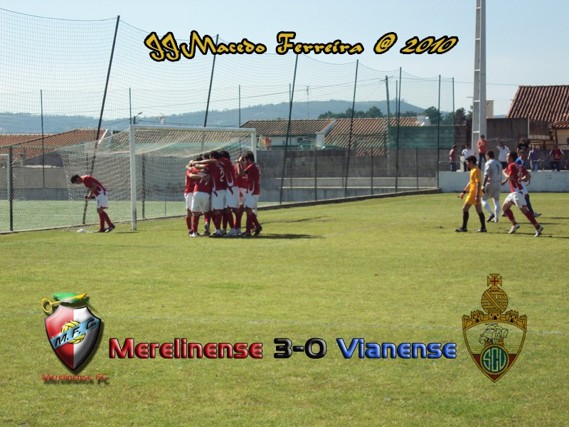 Merelinense 3-0 Vianense Golo210