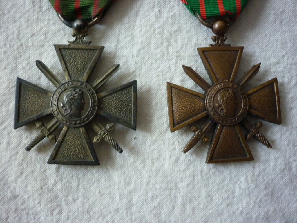 croix de guerre métal doré? P1880710