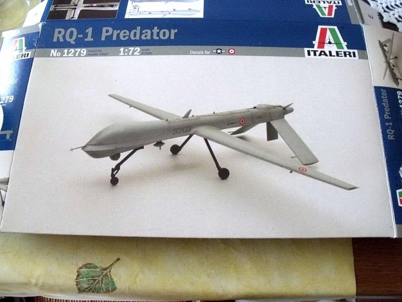RQ1 PREDATOR AU 1/72 ITALERI Rq1_0710