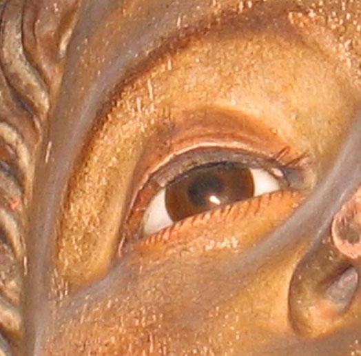 les yeux des sculptures . (incrustation, pâte de verre, œil) Oeil_s10