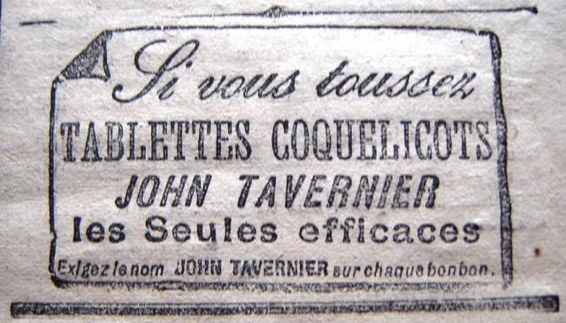 Publicité contre la toux Tablet10