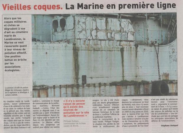 [Le cimetière des bateaux et du patrimoine de la Marine] Le cimetière de LANDEVENNEC - Page 5 Vieill10
