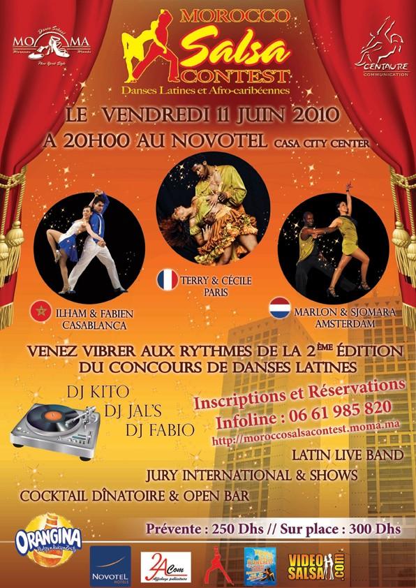 """Morocco Salsa Contest """"2ème édition"""" Flyer-10"""