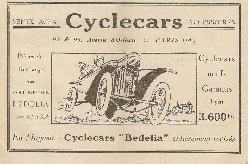 Bedelia Cyclecar Bedeli12