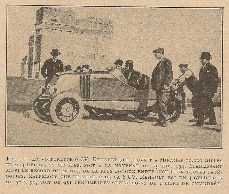 Renault 6cv voiturette Renaul10