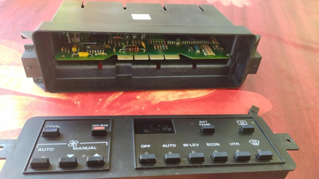 démontage console clim Img_2039
