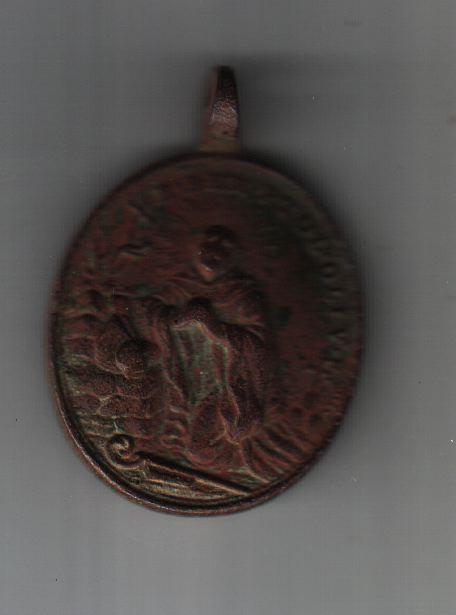 Médaille XVIII ème - Ste-Françoise-Romaine (revers à confirmer) Med_re10