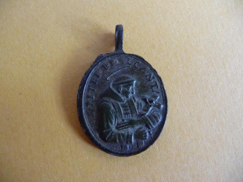 Médaille St-Pierre-d'Alcantara - N-Dame-du-Rosaire - XVII / XVIIIème Med_re16