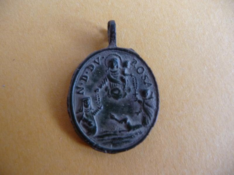 Médaille St-Pierre-d'Alcantara - N-Dame-du-Rosaire - XVII / XVIIIème Med_re17