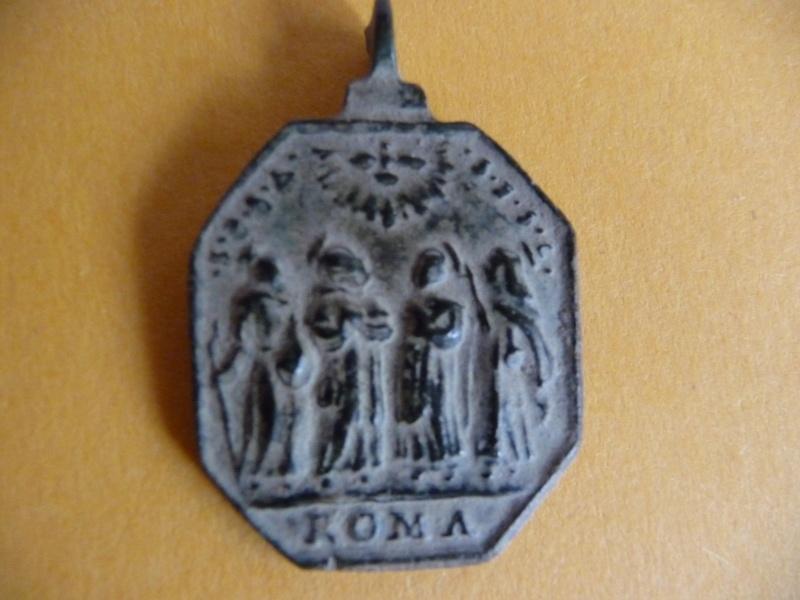 Médaille St-Christophe portant l'enfant Jésus - XVIIème Med_re22