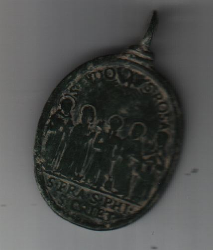 Médaille canonisation 5 saints : Jude-Thadée/Rose de Lima/François de Borgia/Ph-Benizi/Gaëtan-de-Thiène Medrel11