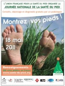 Journée SANTÉ du PIED 2011 Affich14