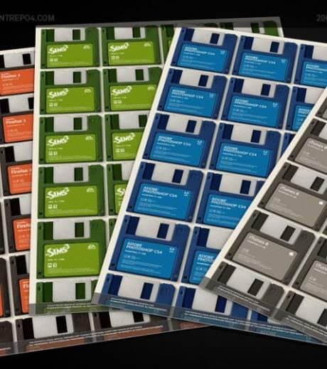 Combien faut-il de disquettes pour installer les Sims ou iTunes ? Combie10