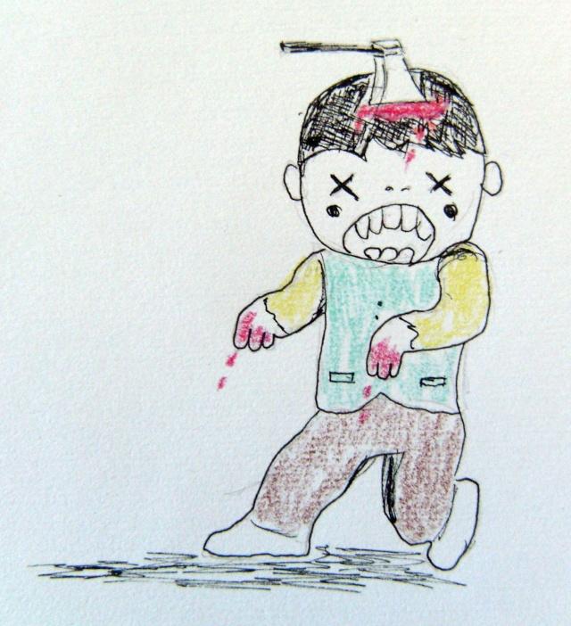 Le jeu des 5 minutes (Tome7: Les zombies!!!) Sl740010