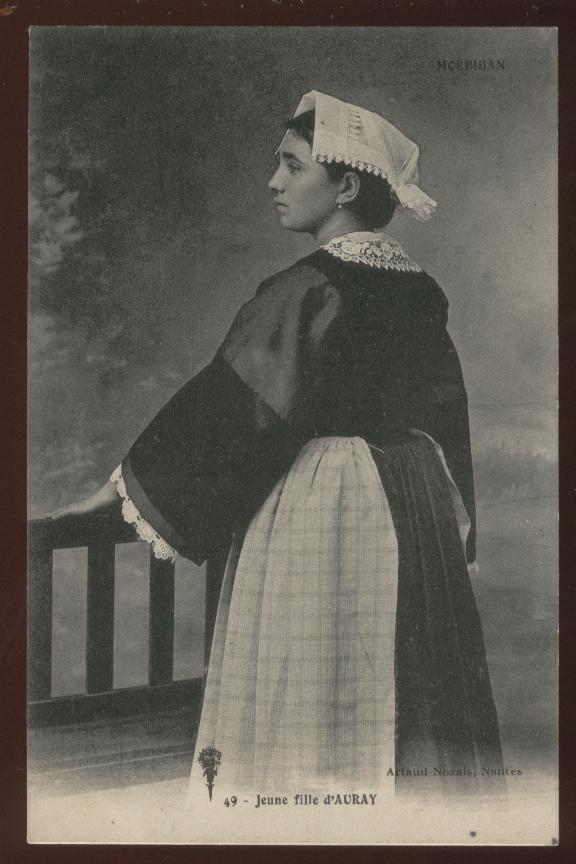Recherche renseignements sur costume féminin d'Auray 1910 02324610