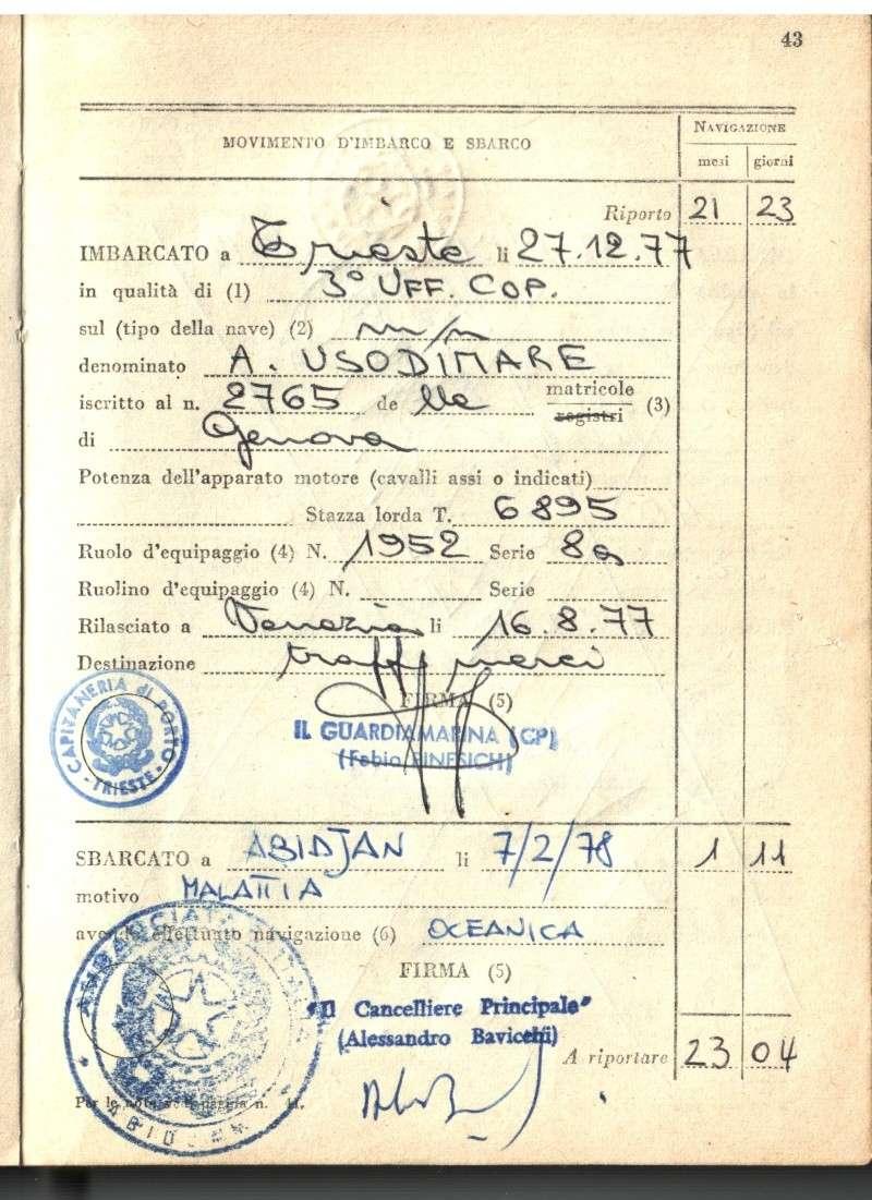 'Antoniotto Usodimare' - Italia - 1942 Nautic11