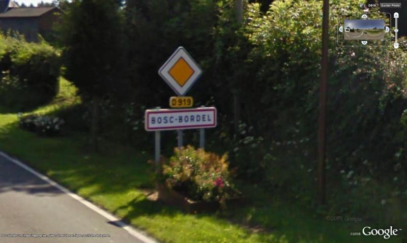 STREET VIEW : les noms de lieu + ou - amusant Bosc10