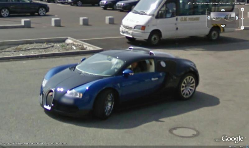 STREET VIEW : belles voitures (Monde) - Page 7 Bugatt11