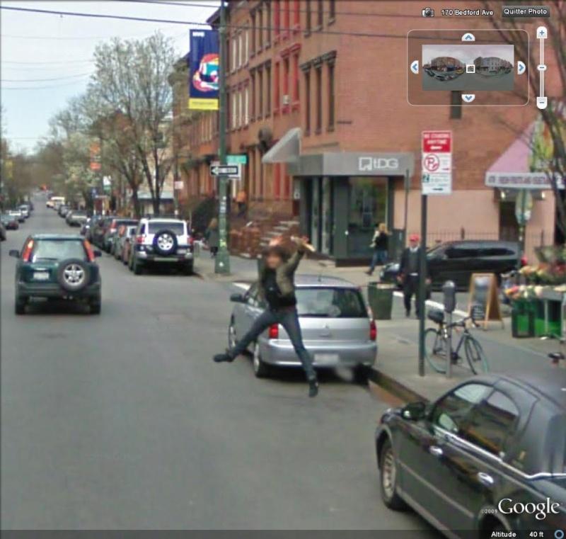 STREET VIEW : un coucou à la Google car  - Page 2 Jump10