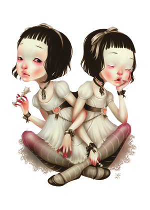 Alice de l'autre côté du miroir : Album et BD.  Lostfi11