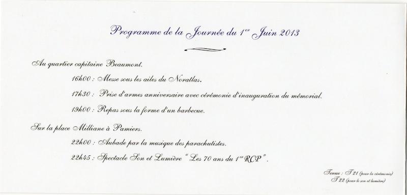 MÉMORIAL DU 1er R. C. P. à Pamiers (Quartier capitaine Beaumont.) - Page 3 Lettre11