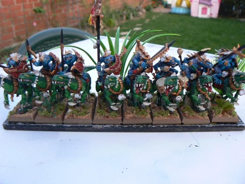 Peinture Hommes Lézards P1090218
