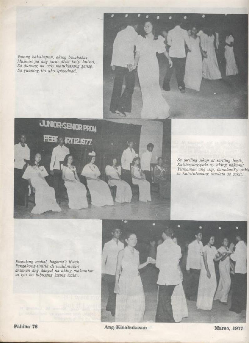 """ANG KINABUKASAN"" – ARAULLO HIGH SCHOOL BATCH 1977 YEARBOOK Ang_ki34"
