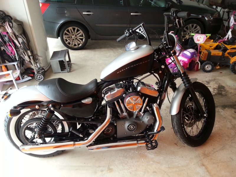 Nightster 2009 esprit chopper old style 111