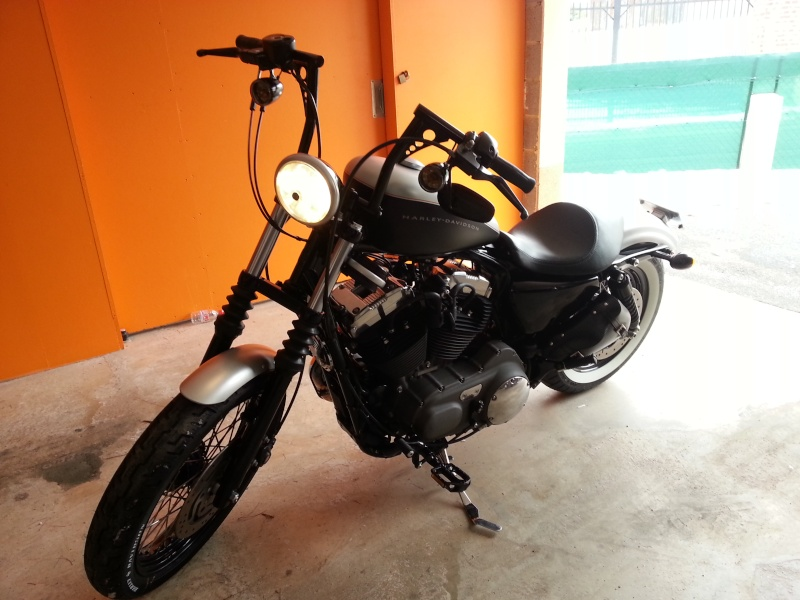 Nightster 2009 esprit chopper old style 211