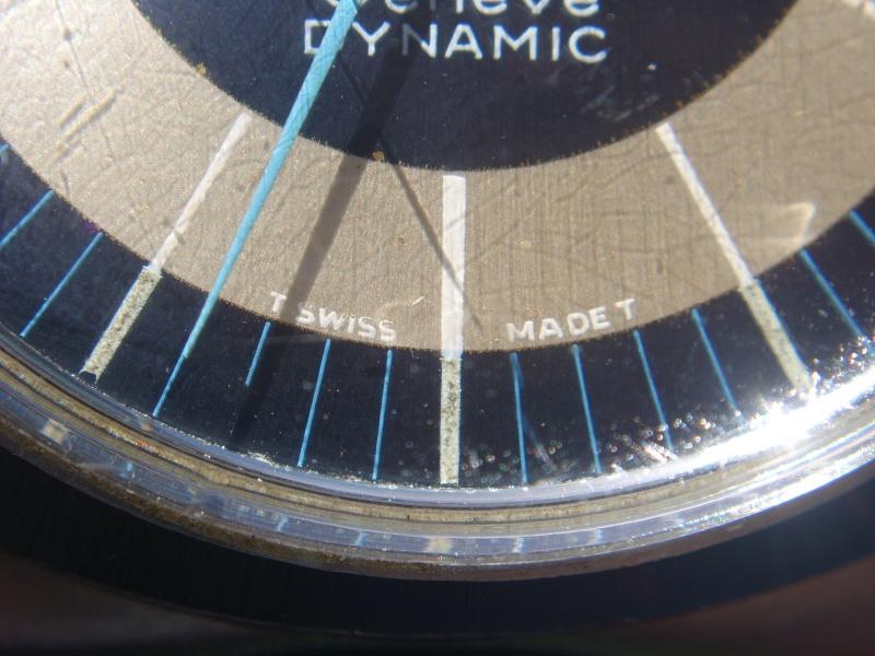 Adaptation cadran sur Omega Dynamic vintage et conseil. Sta60012