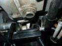 Montage Béquille centrale SW Motech pour Scarver P1020519