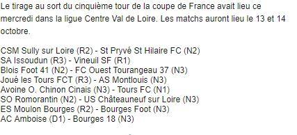 5ème tour de Coupe De France   Cdf20110