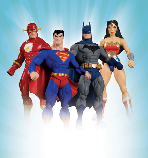 DC Comics :: JLA Classified Classic Series 1 Set of 4 Figures D_516910