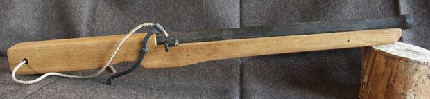 Le trou dans la crosse de l'arquebuse 0212