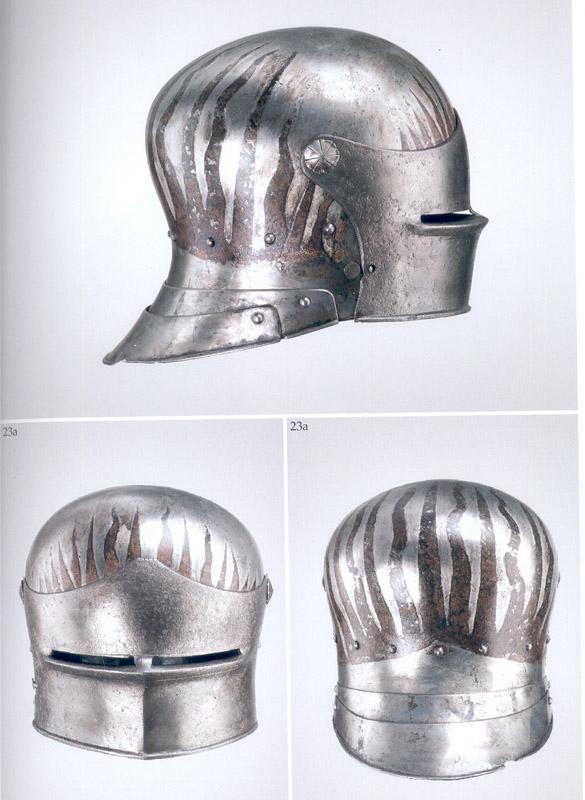 les casques peints XVe 1485-110