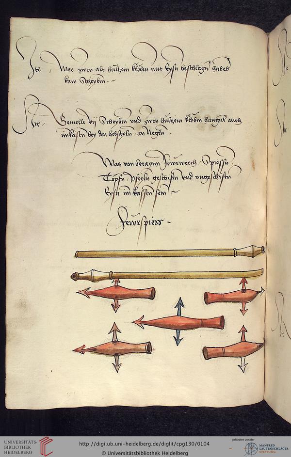"""un """"panzerfaust"""" du XVe ? 1485-113"""