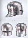 casque à damier, mixte brut de forge blanc harnois ? 1485-112