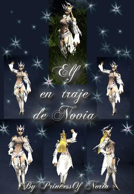 Elfa con  vestido de novia Imagen10