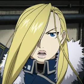 Fullmetal Alchemist Brotherhood - Personnages Olivia10