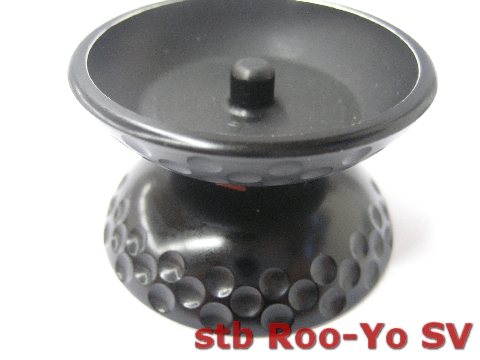 Roo-Yo SV aluminium yoyo yo-yo new BLACK LAST ONE rooyo Yoyo_s10