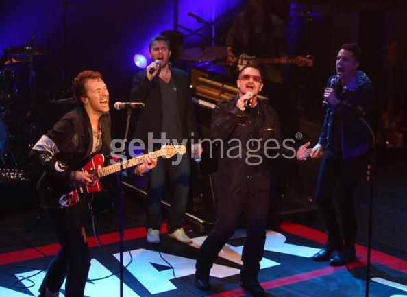 War Child concert (18.02.09) Gary/Coldplay Warchi10