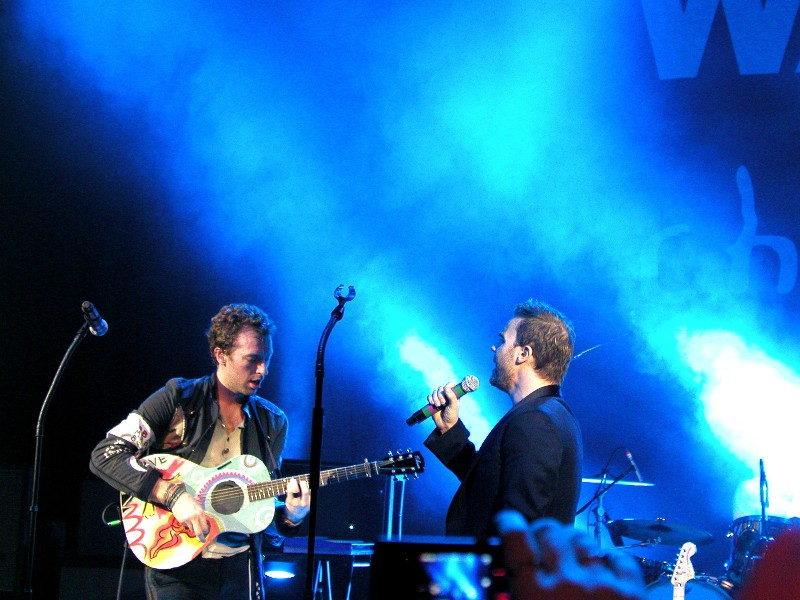 War Child concert (18.02.09) Gary/Coldplay Warchi11