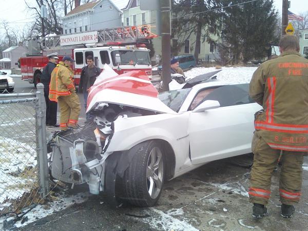 2010 camaro distroyed Cam210