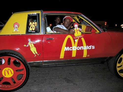 Ronald Mcdonald's car Mc_d_b10