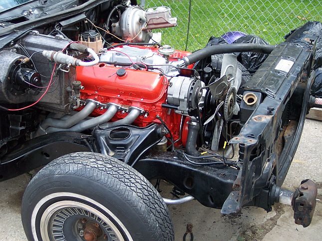 Here is my 74 chevelle Motor_12
