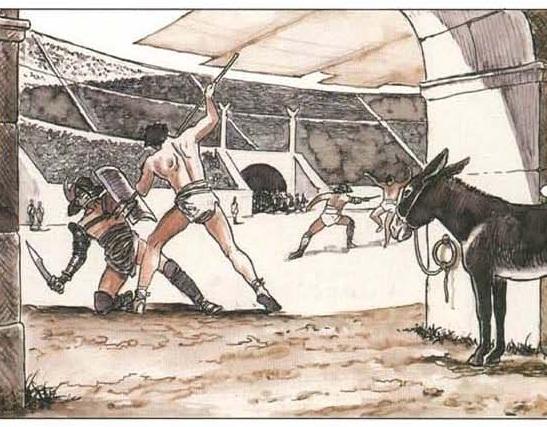 """Les gladiateurs dans """"Rome""""... la série. - Page 3 211"""