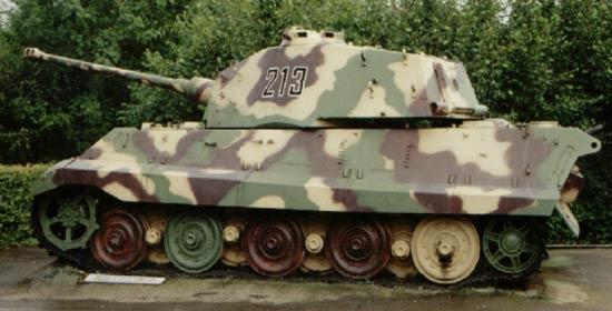 Panzerkampfwagen VI Königstiger ou Tigre II Laglei10
